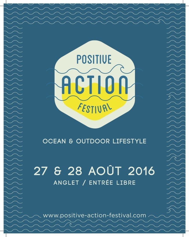 AIR Positive Action Festival animation aout anglet 2016