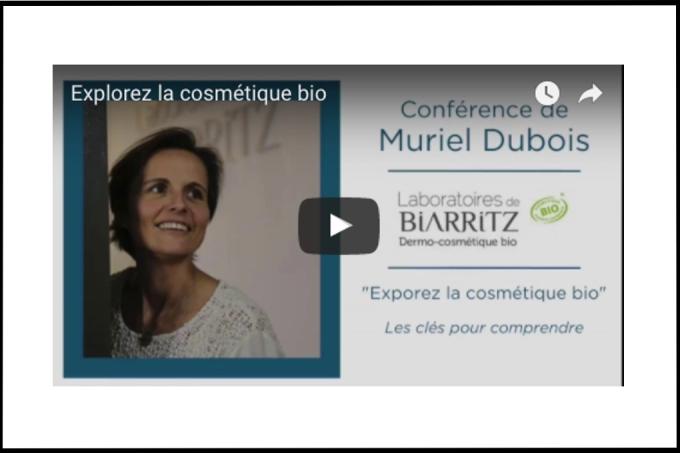 La web-conférence de Muriel Dubois sur la cosmétique bio!