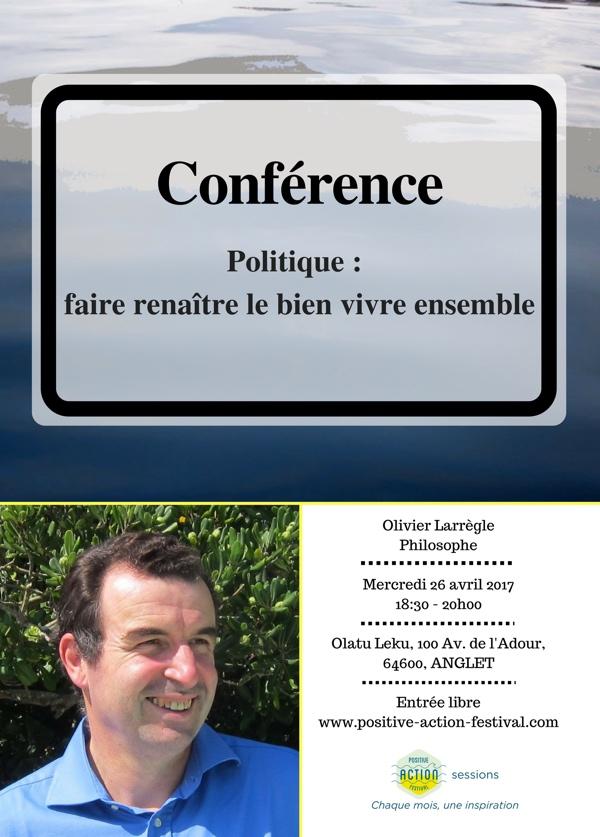 En ligne - Conférence Positive Action Festival