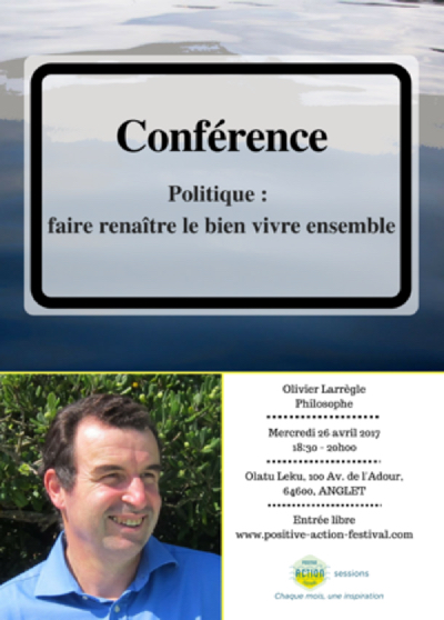 On line - Conférence Positive Action Festival