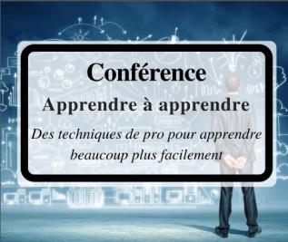 Recevoir les ressources de la conférence «Apprendre à apprendre»